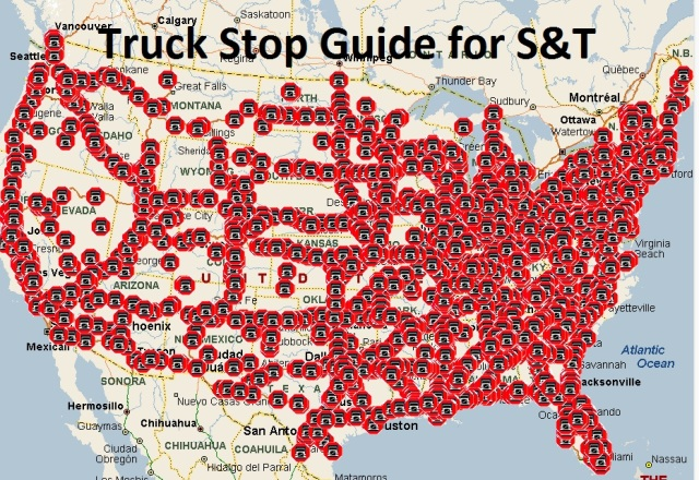 Truck Stop Guide for S&T